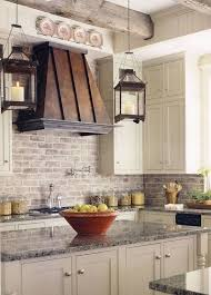 Kitchen Backsplash With Granite Countertops Delectable Traditional Kitchen With Destiny Amherst Cabinets Limestone Tile
