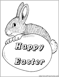 Coloring Pages Easter Bunny With Face Plus Sheets Printable Together