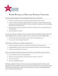 Pharmacy Technician Resume Objective Pharmacy Tech Resume Objective Samples Registered Technician 100 R P 33