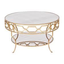 round mirror coffee table mirrored tables vast gold loveable 7 slipstreemaero com