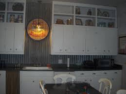 Kitchen Backsplash Tin Added Old Barn Tin To The Backsplash Cottonwood Farm Farm House