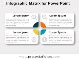 Infographic Matrix For Powerpoint Presentationgo Com