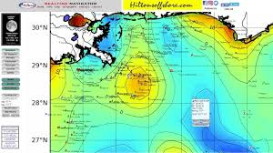 Fishing Forecast Offshore Fishing Hiltons Realtime Navigator