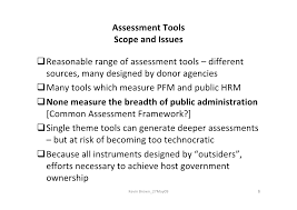 assessing public administration performance making best use of exis  kevin brown 27 09 5 6