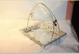 german silver tray at rs 1000 piece