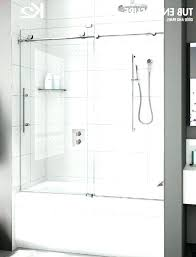 shower curtain or glass door tub doors page in home bathtub instead of