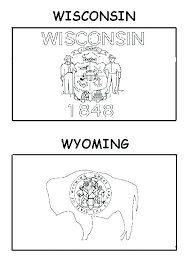 Flag Coloring Sheets Utah State Page Pages For Adults Quotes World