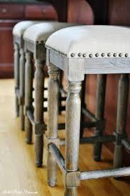 counter height stools. Counter Height Stools With Nail Head Trim