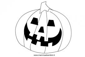 Disegni Per Halloween Da Colorare La Zucca Mamma E Bambini