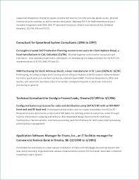 Project Manager Resume Sample Best Of Technical Manager Resume