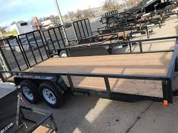 springs trailers utility trailersutility trailers springs trailers 2017 bri mar 7x16 7k utility trailer