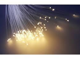 white fibre optic lighting kit star