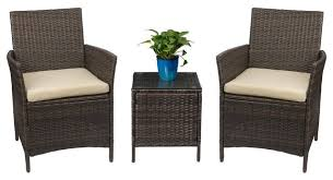 devoko 3 piece rocking bistro sets outdoor patio furniture sets clearance tropical outdoor lounge sets by plexi place
