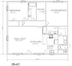 2 bed 2 bath 35 x40 1400 sq ft