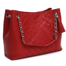 bighit the total brand whole tolly birch tory burch leather tote bag 50286 642 red system rakuten global market