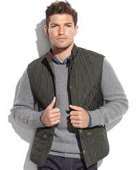 Barbour Men's Lowerdale Quilted Vest - Sweaters - Men - Macy's & Barbour Men's Lowerdale Quilted Vest Adamdwight.com