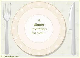 Invitation Card For Dinner Party Invitation To A Dinner Under Fontanacountryinn Com