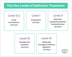 Levels Of Care Five Levels Of Drug Alcohol Addiction