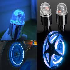 Valve Stem Lights For Cars Us 1 21 33 Off 2pcs Set Motor Cycling Bike Neon Light Led Wheel Valve Stem Cap Light Tire Motion Light Lamp For Bike Bicycle Car Motorcycle In