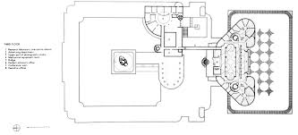Frank Lloyd Wright Floor Plans Guggenheim New York Section Frank Lloyd Wright Floor Plan