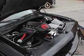 infinite garage dodge challenger custom engine cover