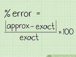image titled calculate percentage error step 1