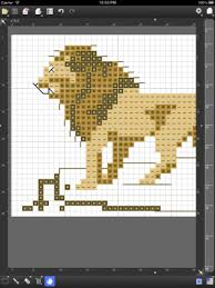 Convert Picture To Knitting Chart Stitchsketch For Cross Stitch Knitting Pattern Pixel Art
