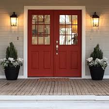 red double front doors. Perfect Red Nice Red Front Double Doors With Best 25 Ideas On Pinterest Exterior  Door Trim To N