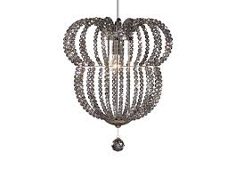 Mickey Mouse Chandelier Light Minnie Beaded Pendant Chandeliers Pendants Ethan Allen