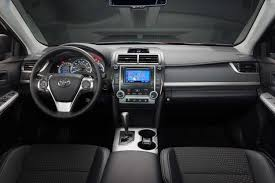 toyota camry 2014 black. the camry interior is functional yet newer rivals have more stylish designs and layouts toyota 2014 black