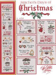 Christmas Cross Stitch Charts Stitchers Days Of Christmas Cross Stitch Chart