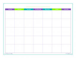 monthly printable calendar personal planner free printables