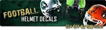 design your own football helmet logo decals awards online create