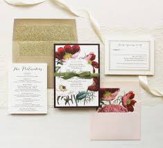 bohemian bride wedding invitations beacon lane Vintage Boho Wedding Invitations floral boho bohemian bride wedding invitations mix bold vintage florals with handwritten inspired fonts the gold mailing envelope is enhanced with a gold vintage bohemian wedding invitations