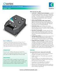 model 1232e curtis instruments pdf catalogs technical model 1232e 1 4 pages