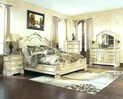 decoration: Distressed Off White Bedroom Furniture Log Beds Rustic ...