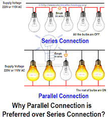 how to wire lights in parallel switches bulbs connection in parallel advantage of parallel circuit connection over series circuit connection