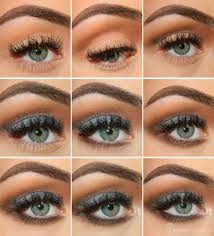 lovely blue prom makeup tutorial
