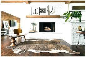 cow print rug animal print rugs antelope rug runners i am large size of coffee tables runner rug print credit
