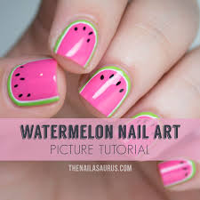 you might also like this citrus inspired nail that makes a cute summer nail design