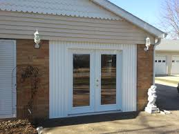 garage conversion with french doors - Google Search
