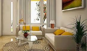 ruang tamu kecil dengan desain dekorasi rapi indah dan nyaman