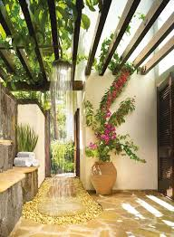 best 25 outdoor showers ideas on pool shower garden outside showers