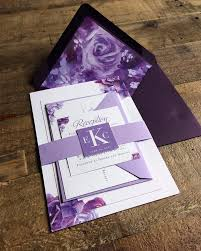 the 25 best purple wedding invitations ideas on pinterest save Cadbury Purple Wedding Invitations Online romantic purple wedding invitation suite featuring handpainted florals by angelina perricone Black and Purple Wedding Invitations
