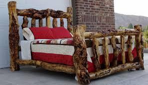 Rustic Black Bedroom Furniture Black Rustic Bedroom Furniture Log Side Bed Table Plus White Table