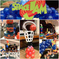 Pin by Lacey Goble on Baaaabies (With images) | Space jam theme, Looney  tunes party, Movie themed party