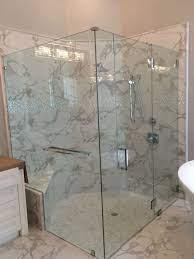 options for frameless shower doors