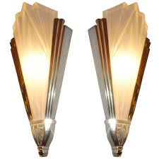 art deco reproduction lighting. impressive stainless art deco wall lights steel simple white decoration black motive sample brown warisan reproduction lighting l