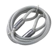 metal wire rope chains ropes the home depot galvanized cable sling loops