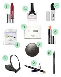 10 tools for your wedding day makeup touch up kit